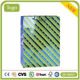 縞の緑の方法靴屋のギフトの紙袋