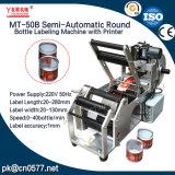 Máquina de etiquetado semiautomática de la botella redonda para las tazas (MT-50B)