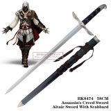 Armas especiais HK8474 58cm de Connor do credo do assassino da espada do Altair