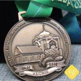 Bestes Verkaufs-kundenspezifisches Decklack-Großhandelsmetalllaufende Sport-Preis-Goldmedaille