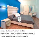 現代デザインのための安いホテルのモーテルの家具の低価格の寝室の家具