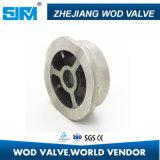 Válvula de verificación de Wafter del acero inoxidable (H71W)