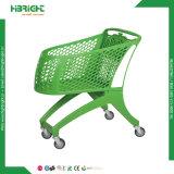 4 Rad-Lebensmittelgeschäft-Plastikeinkaufen-Karren-Hersteller