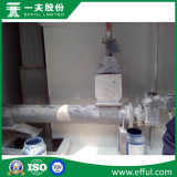 석고 분말 생산에 적용되는 나사형 콘베이어