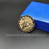 工場販売の一義的な記念する金属の骨董品の金貨