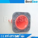 高品質の赤く及び白いPEのプラスチックトラフィックの円錐形の道路の安全