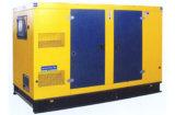 генератор звукоизоляционного тепловозного двигателя Shangchai генератора 75kw молчком