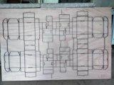 Machine de découpage se plissante automatique de lame pour la Mourir-Fabrication ondulée d'industrie