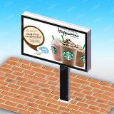 Scrolling торгового центра рекламируя Signage улицы афиши напольный