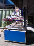 Car Dashboard、Cell Phone Window、Flags、Clothのための真空Adsorption Electric Large Flat Screen Printing Machine