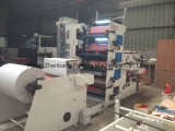 Máquina de impresión Flexo 120m/min de alta velocidad para bolsa de papel