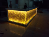 Bar-restaurante de decoração de design de mobiliário moderno Restaurante Café Counter Contador de barra em forma de U