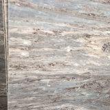 이탈리아 자연적인 대리석 텔레비젼 배경 벽면 화이트 골드 모래 대리석