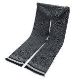 Реверсивный мужчин кашемира как зимний теплый проверить Diamond печать толстые трикотажные тканого шарфа (SP800)