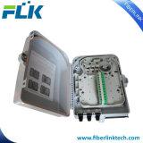 FTTX FTTHの壁のポーランド人によって取付けられる光ファイバ配電箱アクセスネットワーク機構24ポート