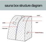 Zaal van de Sauna van de Stoom van de Cabine van de Doos van de Stoom van de sauna de Draagbare voor Douche