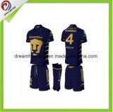 Форма футбола Джерси футбола сублимации Dri Sportswear OEM подходящая