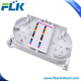 12 coeurs l'épissure de câble à fibre optique de bac pour câble de descente