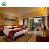 やしアイランドリゾートのためのSize Bedroom Furniture Sets贅沢な純木王