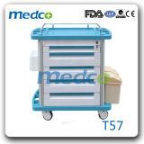 Ce& ISO Approved를 가진 병원 Patient Emergency Nursing Crash Cart Trolley