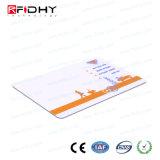 13.56MHz cartão de papel Eco-Friendly do bilhete do Hf Ti2048 RFID