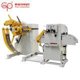 자동적인 기계 Uncoiler 및 압박 기계에 의하여 제조 공업에 있는 직선기 사용