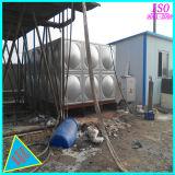 De gouden Tank van het Water van het Comité GRP van het Roestvrij staal van de Leverancier Rechthoekige