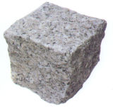 Lastricatore naturale del blocchetto del granito della pietra del ciottolo per il patio esterno, strada privata, giardino