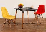 Muebles de Comedor Eames Silla de estilo con el botón