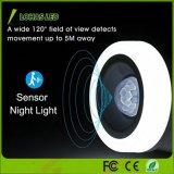 침실 Stairwells 복도를 위한 무선 1.5W 5000K PIR 운동 측정기 LED 밤 빛