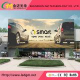 En el exterior de la publicidad comercial P10LED SMD3535 Pantalla de visualización para instalación fija