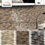 Hot Sale Strip indoor ice Crack Mosaïque de verre brun