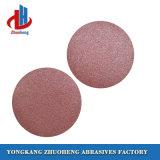 Les disques de ponçage abrasifs Velcro dans 125 mm pour le polissage de meulage