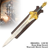 Sword Warcraft Movie Swordライアン王110cm/75cm HK8490A/HK8490s
