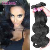 Pode ser tingida qualquer COR CARROÇARIA extensões de cabelo Brasileiro da onda