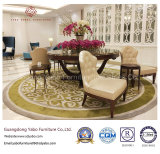Mobília do hotel com para sala de jantar com cadeira delicada (CY12-28)