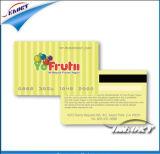 Cartão de PVC de tarja magnética (CR80 ISO7816 Padrão)