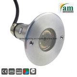 LED Impermeable IP68 Iluminación subacuática para piscinas