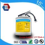 太陽街灯のためのOEM 12V 50ah李イオンリチウム電池