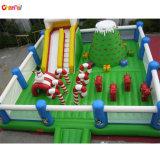 Climbing Giant Inflatable Playground Park를 가진 크리스마스 Inflatable Funcity