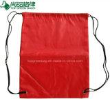個人化された粋な卸し売り耐久のEcoのドローストリングのバックパックの適性袋