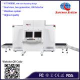 De dubbele Scanner van de Bagage van Introscope van de Röntgenstraal van de Mening voor Luchthaven, Douane (AT10080D-Win7)