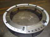 CNC feito sob encomenda do alumínio do ODM que faz à máquina para o vagão