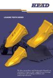 Komatsu PC1250 diente de la cuchara Sand-Casting Modelo 21n-72-14290RC Rock estilo Cincel