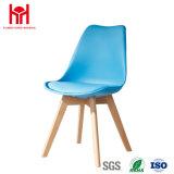 Sala de estar Cadeira de Lazer Pernas PU Banco assento de madeira
