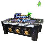 Macchina del gioco della galleria di pesca della macchina del gioco dei pesci del drago di tuono della macchina del gioco della scanalatura