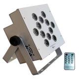 Proiettore a pile chiaro di PARITÀ della radio LED della fase 12*15W 5in1 RGBWA