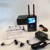 完全なバンドビデオスキャンナーの画像表示のマルチ無線カメラレンズの探知器のフルレンジの反卒直な小型無線カメラのハンターのカメラの探知器