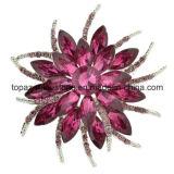 服のラインストーンのブローチ(EB-027)のためのFashion Jewelry Jewellery Rhinestone女性ブローチ