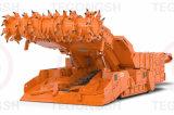 Bits de mineração dos dentes da mineração subterrânea das picaretas para o equipamento de mineração